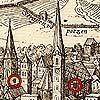 Alte Karte von Brixen