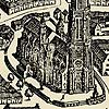 Alte Karte von Freiburg